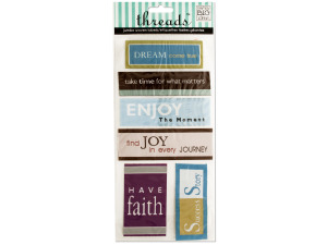 Inspirational 2 Jumbo Woven Labels