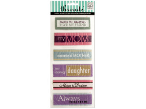 Mother/Daughter Jumbo Woven Labels