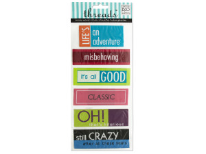 Just For Fun Jumbo Woven Labels