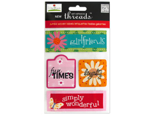Girlfriends Jumbo Woven Labels