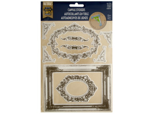 Colorable Frames Canvas Stickers