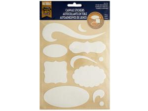 Layerable Plates & Flourishes Canvas Stickers