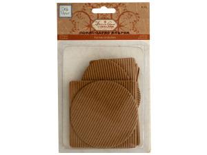 Corrugated Cardboard Craft Shapes