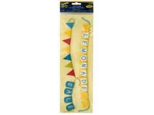 Lemonade Stand Embossed Mini Craft Banners