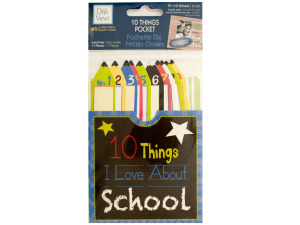 10 Things I Love About School Journaling Pocket