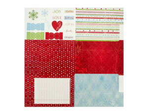 individual fold out album kit - christmas