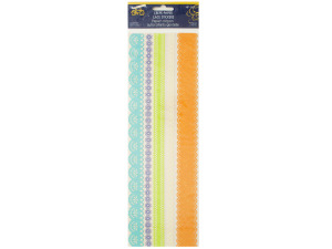 Spring Fever Crepe Paper Lace Stickers