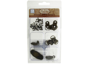 Wholesale: Metal Brads and Anchors Assortment