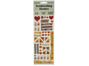 Love Letters Scrapbooking Stickers