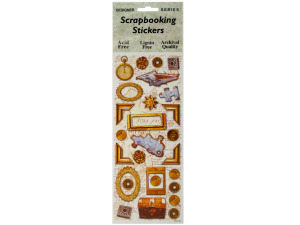 Treasure Chest Scrapbooking Stickers