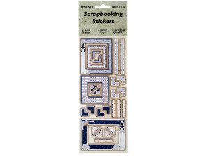 Bridal Frames Scrapbooking Stickers