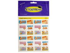 Teddy Bear Applause Stickers