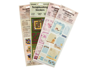 Scrapbooking Stickers Assortment