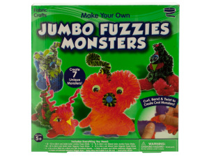 Make Your Own Jumbo Fuzzies Monsters Kit
