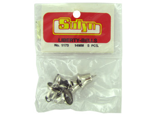 Wholesale: Liberty bells, pack of 5
