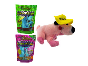 Puppy pinata plush toy