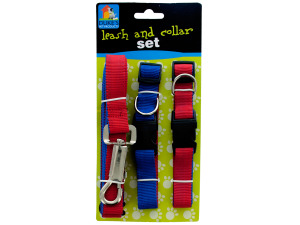 Leash and Collars Set