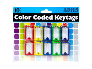 Wholesale: Color Coded Key Tags