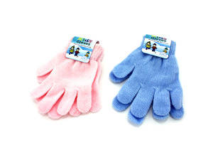 Wholesale: Kid's Gloves, Assorted Pink Or Blue