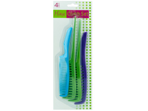 Plastic comb value pack
