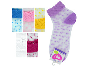 mid cut dots 9-11 socks