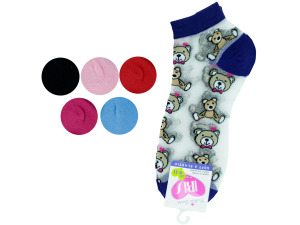 low cut bears 9-11 socks