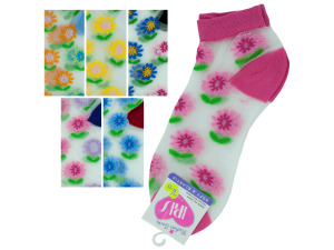 low cut flower 9-11 socks