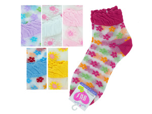 mid cut flower 9-11 socks