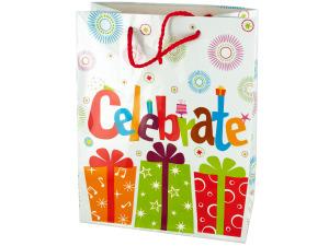 Medium Celebrate Birthday Gift Bag