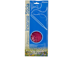 Assorted scents incense sticks, packs of 40