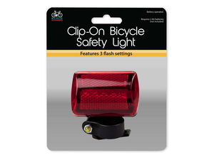 Wholesale: Clip-On Bicycle Safety Light