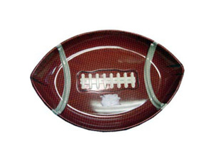 Wholesale: Football shaped serving tray