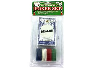 Wholesale: Vegas style poker set