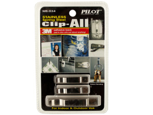 Stainless Steel Clip All Adhesive Spring Clips