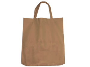 Tan Shopping Tote