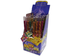 Wholesale: Incense sticks and cones display