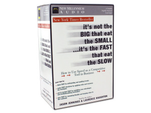 """it's not the big that eat the small.."" set of audio cassettes"