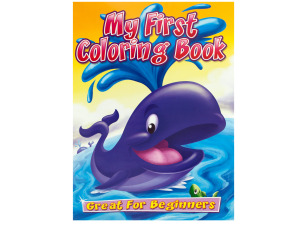 Wholesale: My first coloring book
