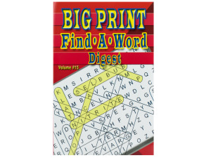 Wholesale: Word puzzle digest
