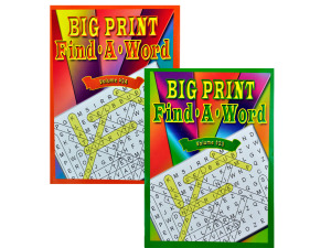 big print find a word