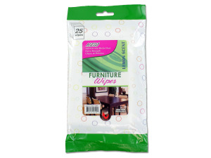 Furniture wipes