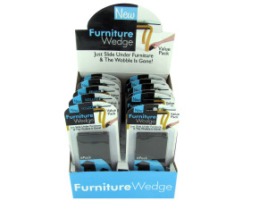 Furniture wedge display