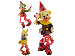 decorative clown assorted designs