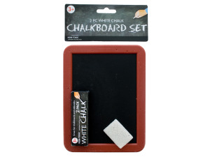chalkboard set (includes chalkboard + 2 pieces of chalk)