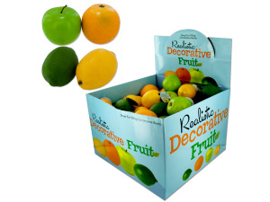 Artificial fruit, assorted