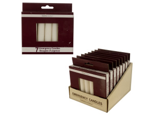 7 pack 3.78 inch emergency candles (8 packs per pdq)