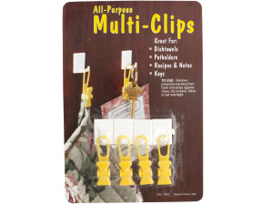 Multi-Purpose Adhesive Clips Set