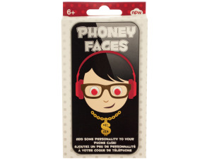 Phoney Faces Phone Stickers