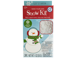 Make Your Own Snow Kit