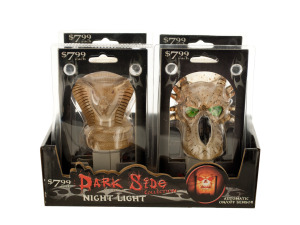 Dark Side Night Light Countertop Display
